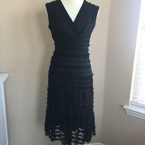Max Studio | Ruched Sleeveless V-Neck Midi Dress
